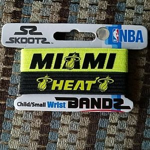 Skootz Miami Heat Bandz, black and neon yellow